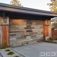 garage doors custom orange county ca reclaimed wood garage doors custom designed in a
