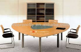 Small Meeting Table Wooden Triangle Conference Table Small Meeting Office Table View