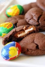 stuffed easter eggs cadbury creme egg stuffed easter cookies favorite family recipes