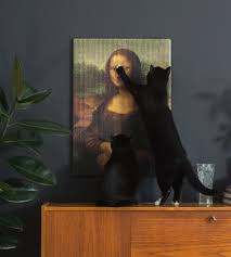 cats can finally destroy priceless artwork with these masterpiece