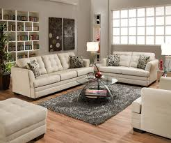 Simmons Living Room Furniture Simmons Upholstery 2057 Stationary Living Room Dunk