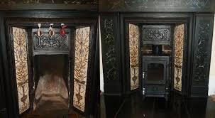 salamander stoves portfolio categories small fireplace