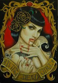 43 besten women living dead tattoo bilder auf pinterest tag der