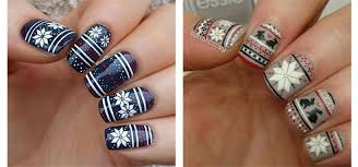 15 lovely nail art christmas designs wearall