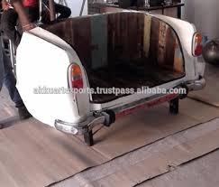 canapé voiture rétro style arrière de voiture siège canapé vintage industrielle