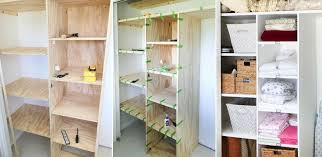 Wood Shelves Build by How To Customize A Closet For Improved Storage Capacity