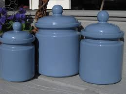 cobalt blue kitchen canisters periwinkle blue canister set 3 piece canister set kitchen