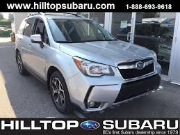 used 2014 subaru forester for sale vernon bc