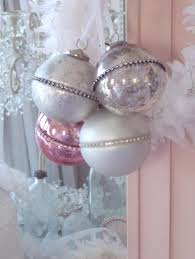 Shabby Chic Christmas Tree by 186 Best Pink Christmas Images On Pinterest Shabby Chic