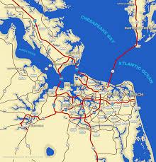 Virginia Beach Flood Map by Virginia Weather Map Virginia Map