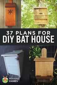 Diy House 37 Free Diy Bat House Plans That Will Attract The Natural Pest