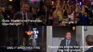 Woo Girls Meme - escapism 30 day himym challenge day 1 favourite episode