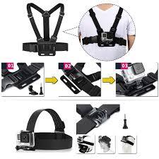 amazon com luxebell accessories kit for akaso ek5000 ek7000 4k