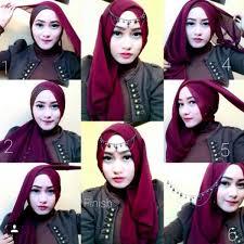 tutorial hijab paris ke pesta 10 tutorial hijab pesta simpel tapi elegan 2017
