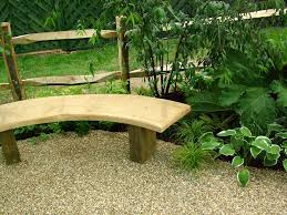 curved garden bench plans home outdoor decoration