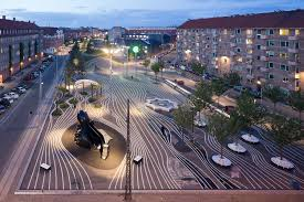 best 25 plaza design ideas superkilen topotek 1 big architects superflex archdaily