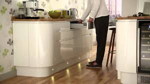 Kitchen Kickboard Lights Led Circular Plinth Kitchen Floor Lighting