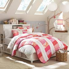 decorating attic bedrooms girls with lanterns and small windows in