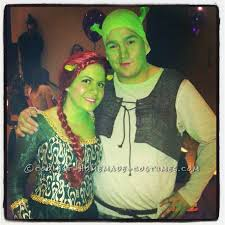 Fiona Halloween Costume Cool Halloween Couples Costume Night Shrek Fiona