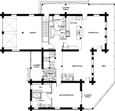 floor plans for log homes log home floor plans montana log homes floor plan 045