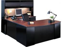 Exec U Shaped Office Desk With Hutch CSII 7265 Office Desks Bathroom