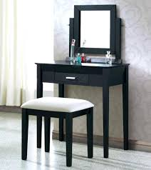 Black Vanity Table Articles With Small Dressing Table Without Mirror Tag Compact