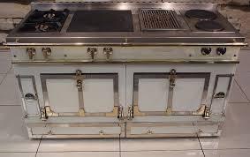 La Cornue Chateau La Cornue Chateau 147 Dual Fuel Range Cooker Double Oven Ivory
