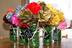 diy tissue paper bouquets in mason jars vsw