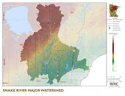 Minnesota State Map by Snake River Watershed Minnesota Nutrient Data Portal