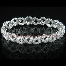 diamond bracelet women images Gold womens designer diamond bracelet 5 06ct jpg