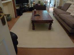 Ikea Laminate Floors Ikea Havbro Large Cream Flat Weave Wool Rug 6 7 X 9 10