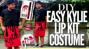 Easy T Shirt Halloween Costumes by Diy Easy Kylie Lip Kit Liquid Lipstick Halloween Costume Mary