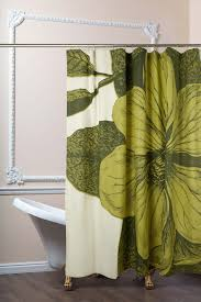 Botanical Shower Curtains Botanical Shower Curtain In Chartreuse Design By Paul