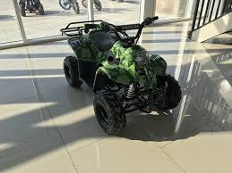 110cc kids teen atv quad 4 wheeler automatic racks free shipping