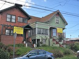 Three Story Houses by 2 Oakland Houses For Sale For 1 To Make Way For Development