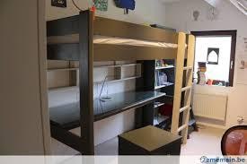 lit surélevé avec bureau lit surélevé avec bureau de la marque mathy by bols a vendre