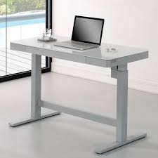 Standing Desk For Desktop Wildon Home Adjustable Standing Desk U0026 Reviews Wayfair