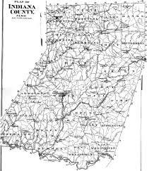 Map Of Pennsylvania Towns by Indiana County Pennsylvania Atlas 1871