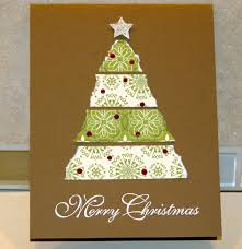 stampin up christmas tree card 1 u2013 paper into love