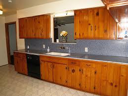 vintage knotty pine kitchen cabinets exitallergy com