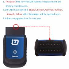 aliexpress com buy vpecker v9 2 wifi bluetooth obd2 auto