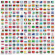 all flags of the world emaps world