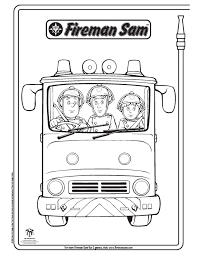 fireman sam elvis penny colouring pages photo shared elka