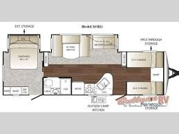 Keystone Trailers Floor Plans by New 2011 Keystone Rv Outback 301bq Travel Trailer At Bullyan Rv