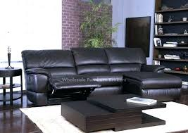 leather sectional sofa with chaise and recliner u2013 knowbox co
