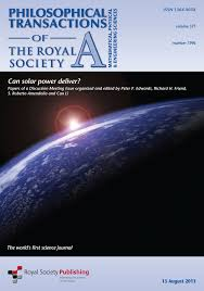 polymer solar cells philosophical transactions of the royal