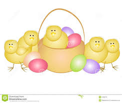 yellow easter clipart collection