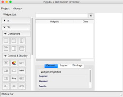 python gui designer windows gui drag drop style gui builder for python tkinter