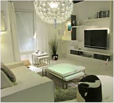 ikea white living room