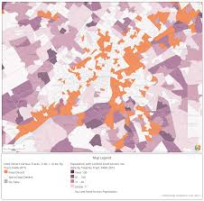 Census Tract Maps Data Update Food Deserts Community Commons